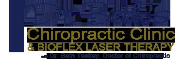 Dr. Beth Teskey Collingwood Chiropractor BioFlex Laser Logo